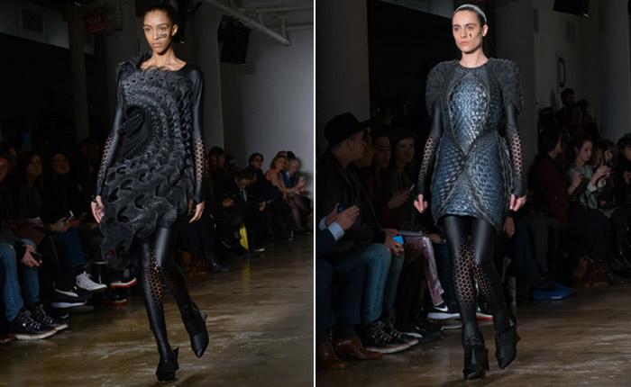 3D-printede kjoler