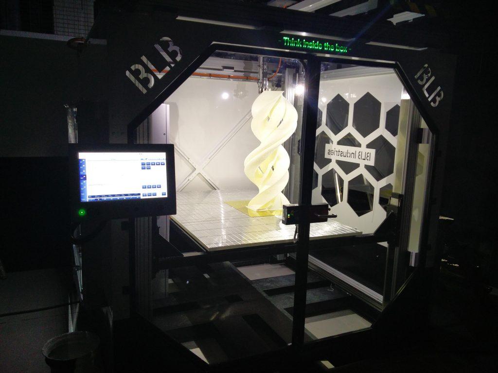 The Box, som produseres i Värnamo av BLB Industries, er en av markedets største,hurtigste og mest fleksible 3d-skrivere.