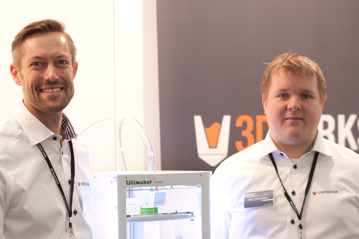 Daniel Ljungstig og Eric Cederberg, 3DVerkstan.