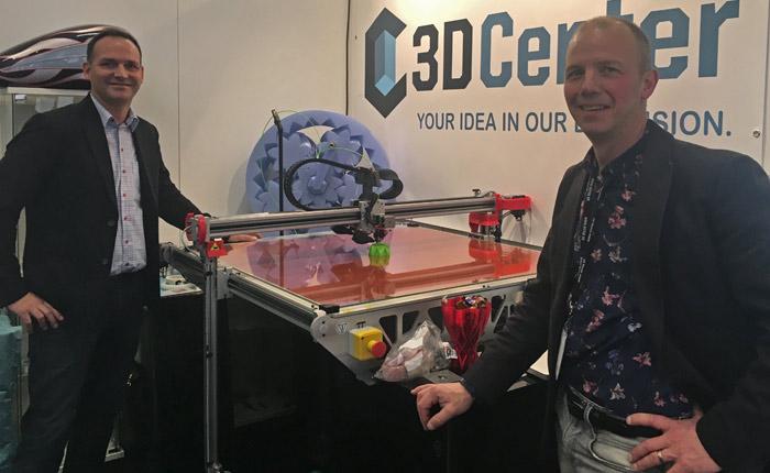 Casper Rosén og Ulf Qviberg, 3D Center.