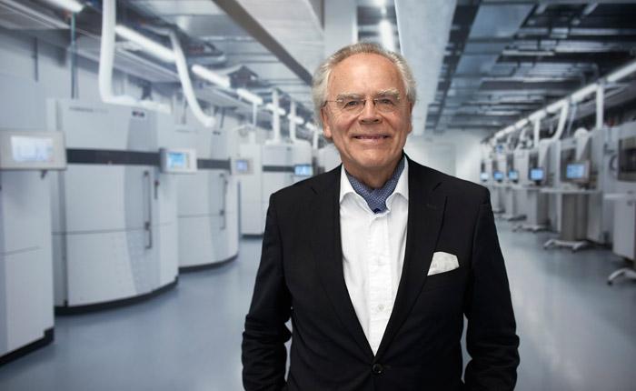 EOS grunnlegger og foretakets store visjonær, Hans Langer.