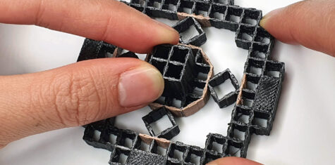 3d-printet objekt kjenner interaksjon